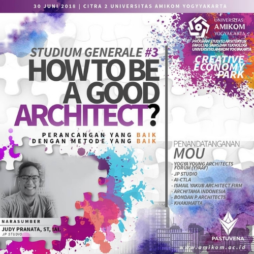 9Studium Generale #3, How To Be A Good Architect?