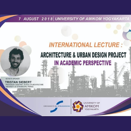 20180807. Studium Generale 04 Architecture and Urban Design Project in Academic Perspective