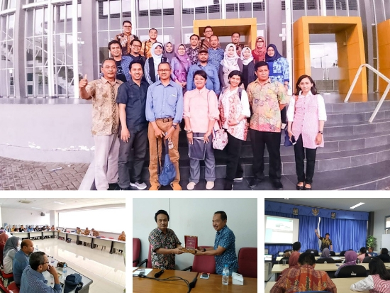 20190121. Studi Banding Pusat Penelitian Ekonomi Kreatif ke Unibraw Malang dan ITS Surabaya