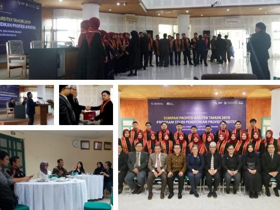 20190411 Undangan Sumpah Profesi Arsitek Tahun 2019 PPArs UII