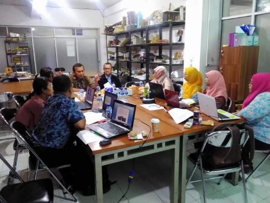 20191108. Ramah tamah dosen pengajar di Prodi Sarjana Arsitektur