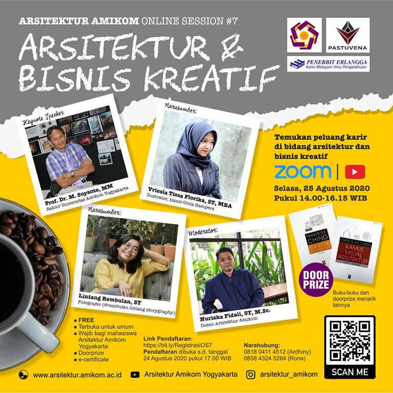 Arsitektur Amikom Online Session #7: Arsitektur dan Bisnis Kreatif