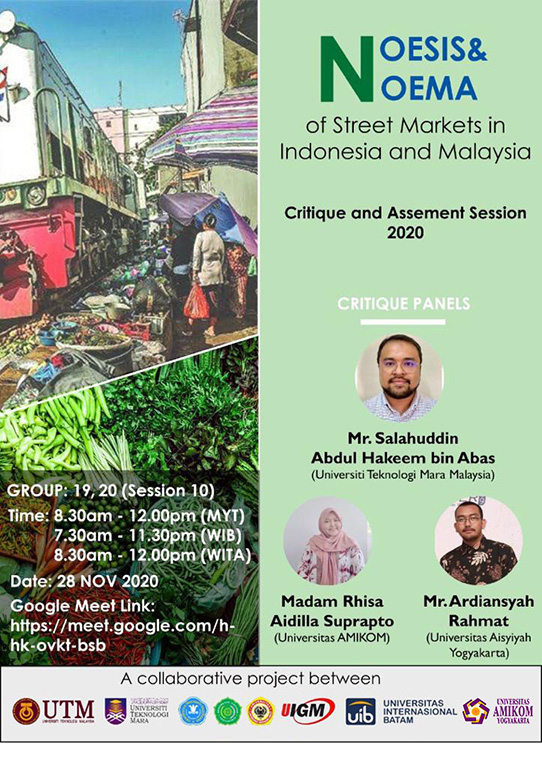 Neosis and Neoma of Street Markets in Indonesia and Malaysia